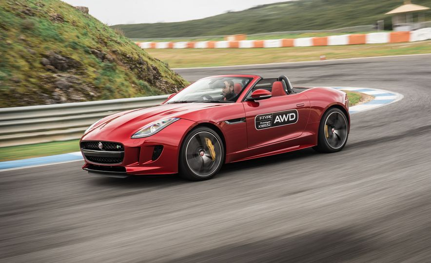 2016 Jaguar F-type roadster AWD (Euro-spec) - Slide 17