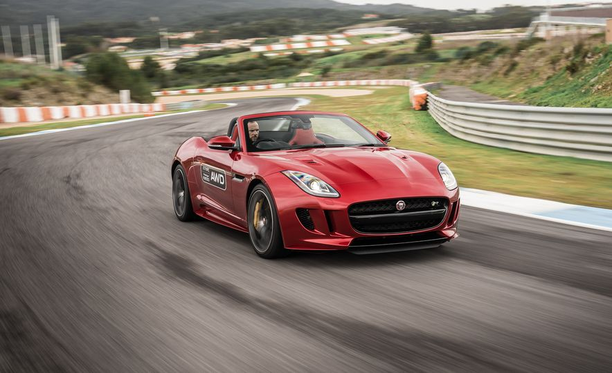 2016 Jaguar F-type roadster AWD (Euro-spec) - Slide 18