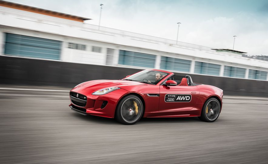 2016 Jaguar F-type roadster AWD (Euro-spec) - Slide 21