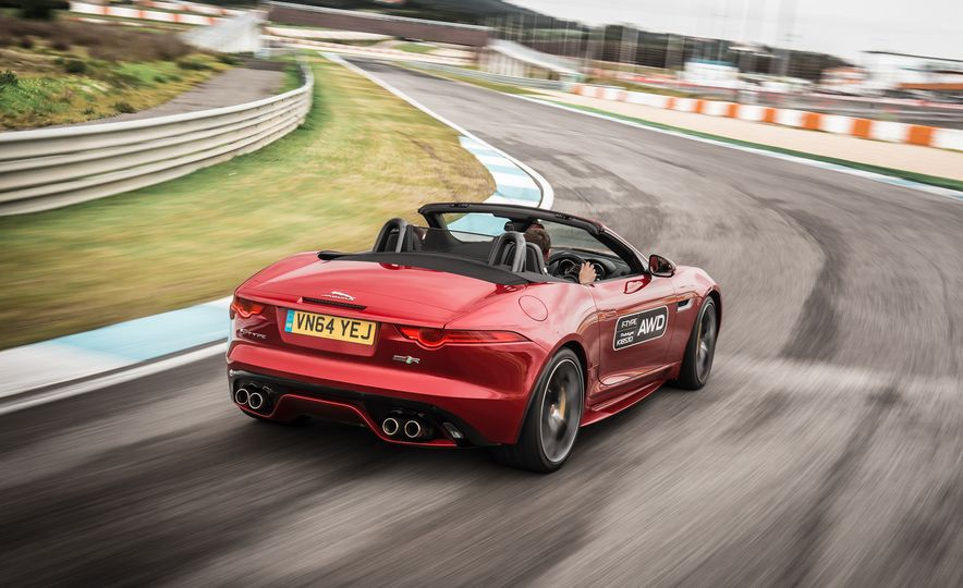 2016 Jaguar F-type roadster AWD (Euro-spec) - Slide 23