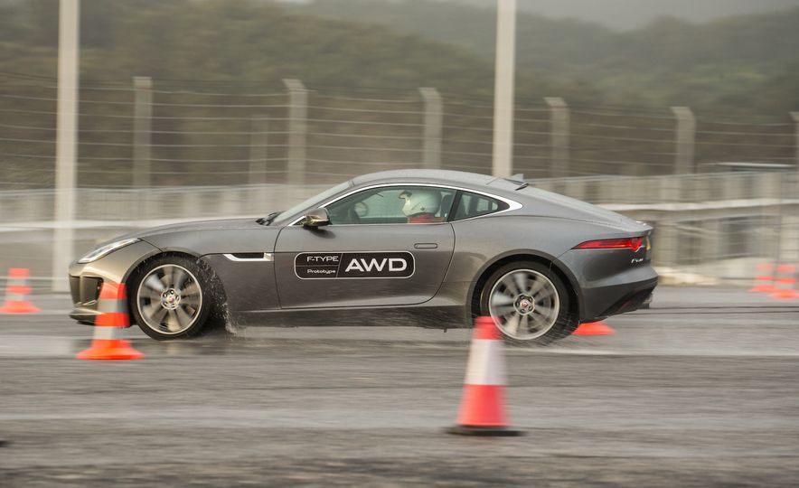 2016 Jaguar F-type roadster AWD (Euro-spec) - Slide 42