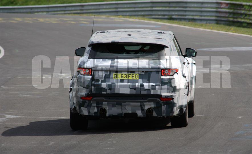 2017 Jaguar F-pace (spy photo) - Slide 16