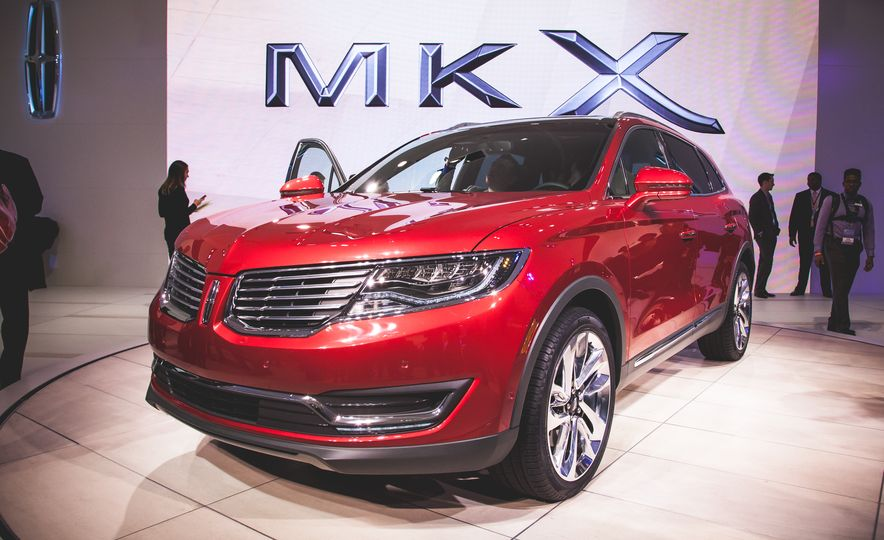 2016 Lincoln MKX - Slide 1