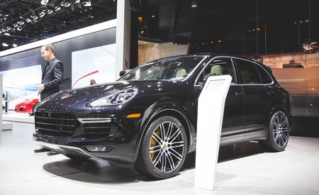 2016 Porsche Cayenne Turbo S: 570 Horsepower, $158K Price Tag – Official Photos and Info