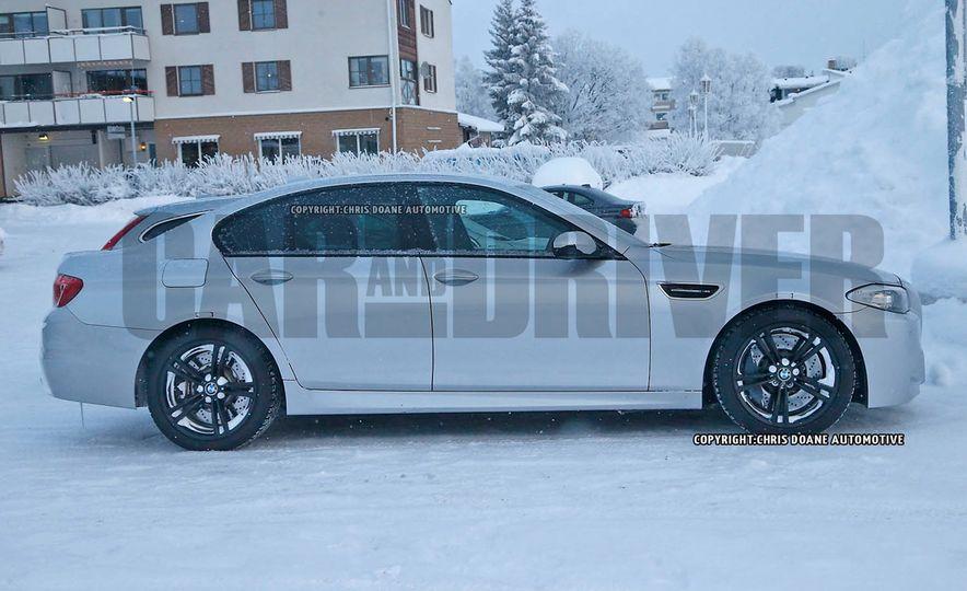 2017 BMW M5 xDrive (spy photo) - Slide 2