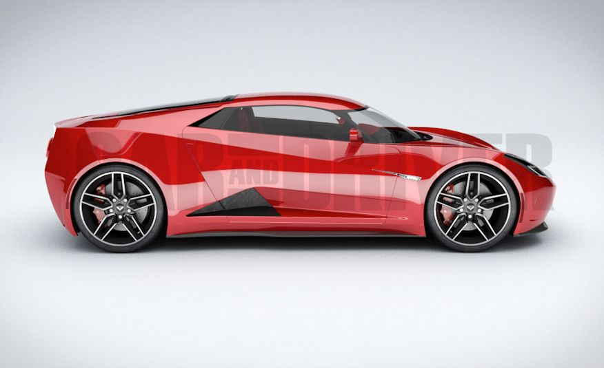 2017 Mid-Engined Chevrolet Corvette Zora (artist's rendering)  - Slide 20
