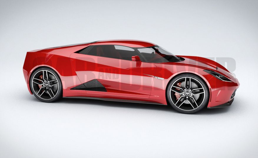 2017 Mid-Engined Chevrolet Corvette Zora (artist's rendering)  - Slide 21