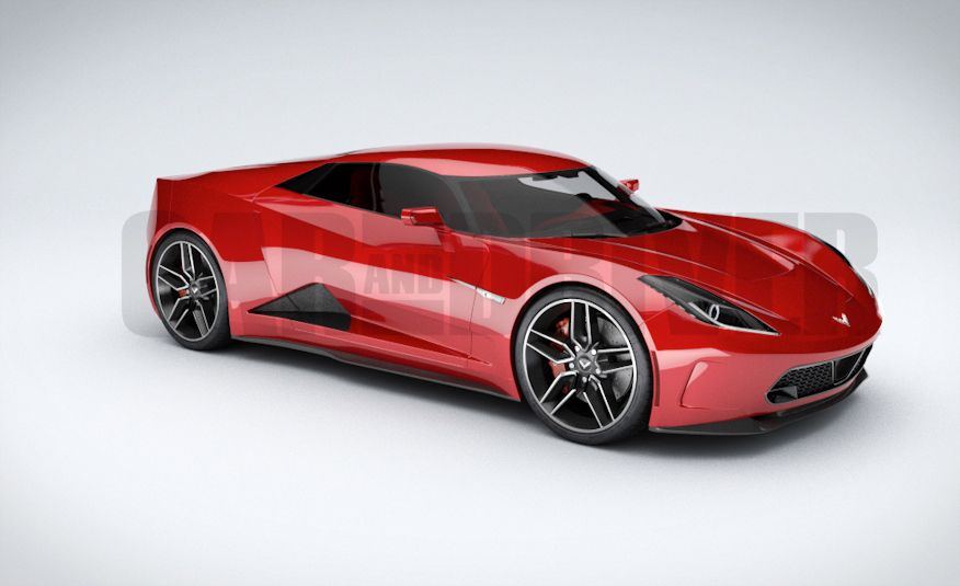 2017 Mid-Engined Chevrolet Corvette Zora (artist's rendering)  - Slide 22