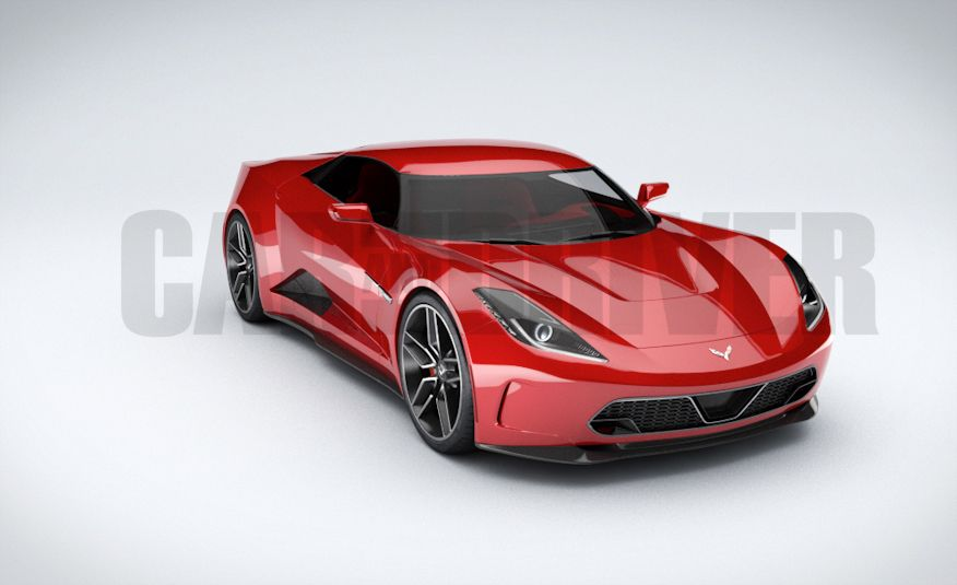 2017 Mid-Engined Chevrolet Corvette Zora (artist's rendering)  - Slide 3