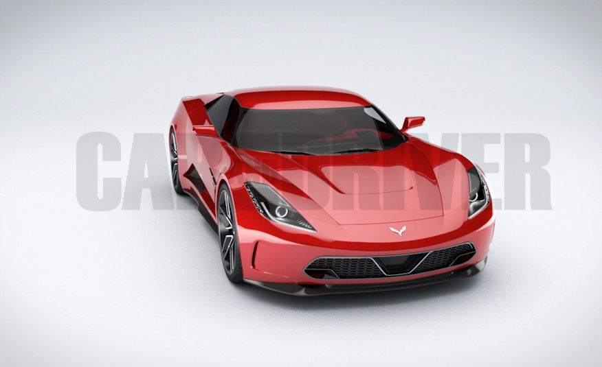 2017 Mid-Engined Chevrolet Corvette Zora (artist's rendering)  - Slide 4