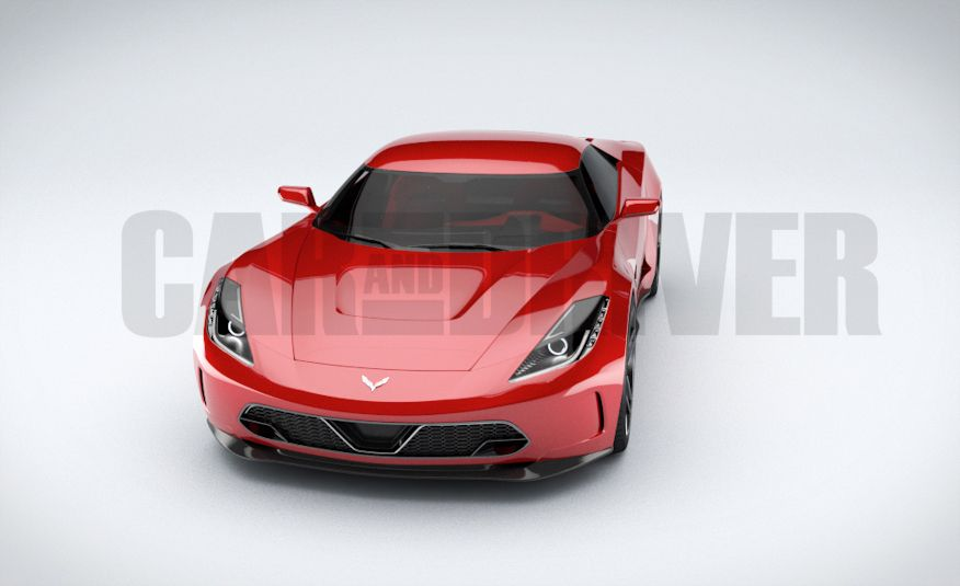 2017 Mid-Engined Chevrolet Corvette Zora (artist's rendering)  - Slide 7