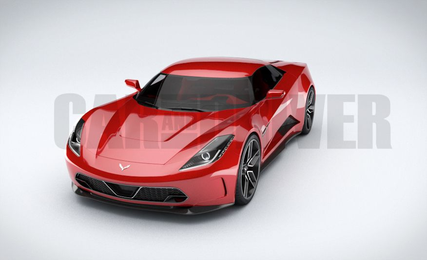 2017 Mid-Engined Chevrolet Corvette Zora (artist's rendering)  - Slide 8