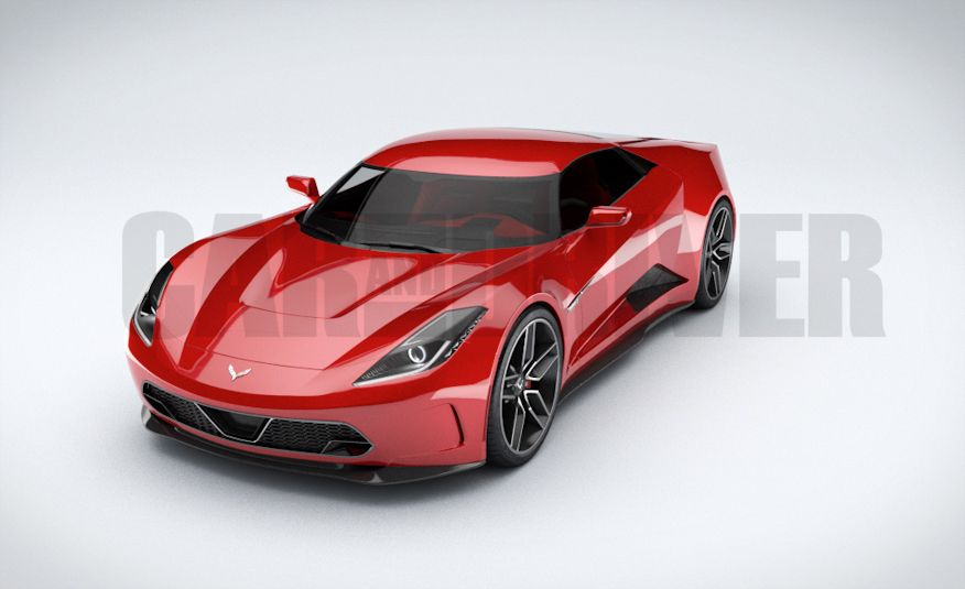 2017 Mid-Engined Chevrolet Corvette Zora (artist's rendering)  - Slide 9