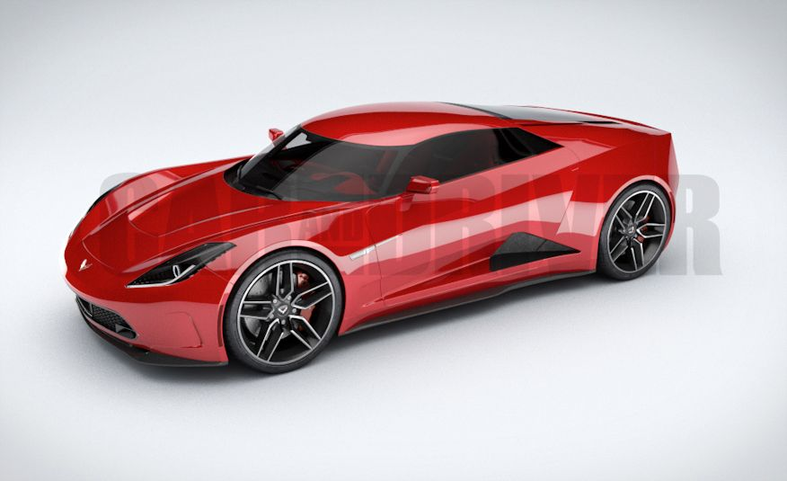 2017 Mid-Engined Chevrolet Corvette Zora (artist's rendering)  - Slide 11