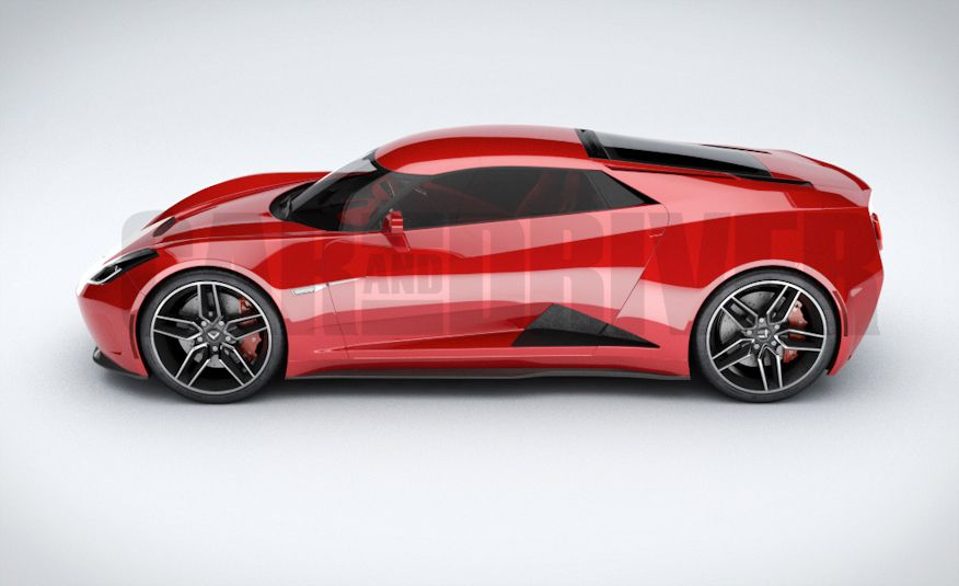 2017 Mid-Engined Chevrolet Corvette Zora (artist's rendering)  - Slide 12