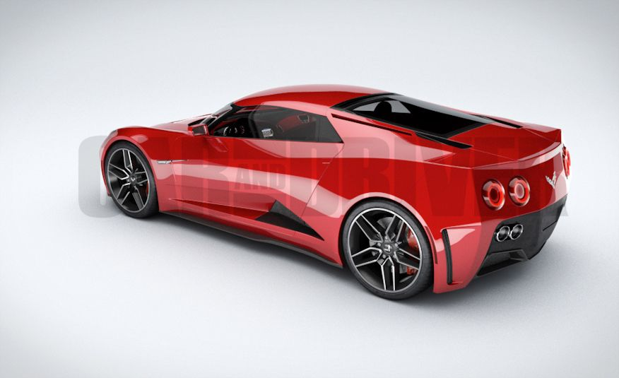 2017 Mid-Engined Chevrolet Corvette Zora (artist's rendering)  - Slide 13