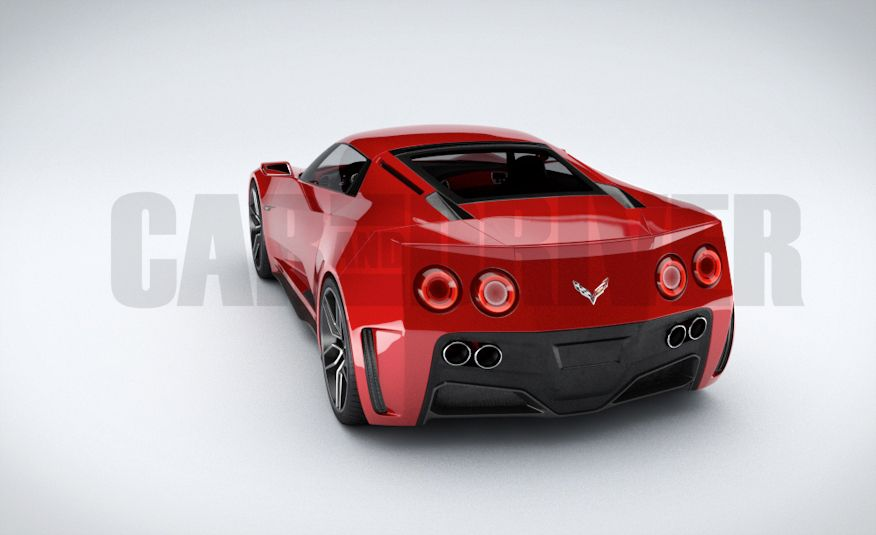 2017 Mid-Engined Chevrolet Corvette Zora (artist's rendering)  - Slide 15