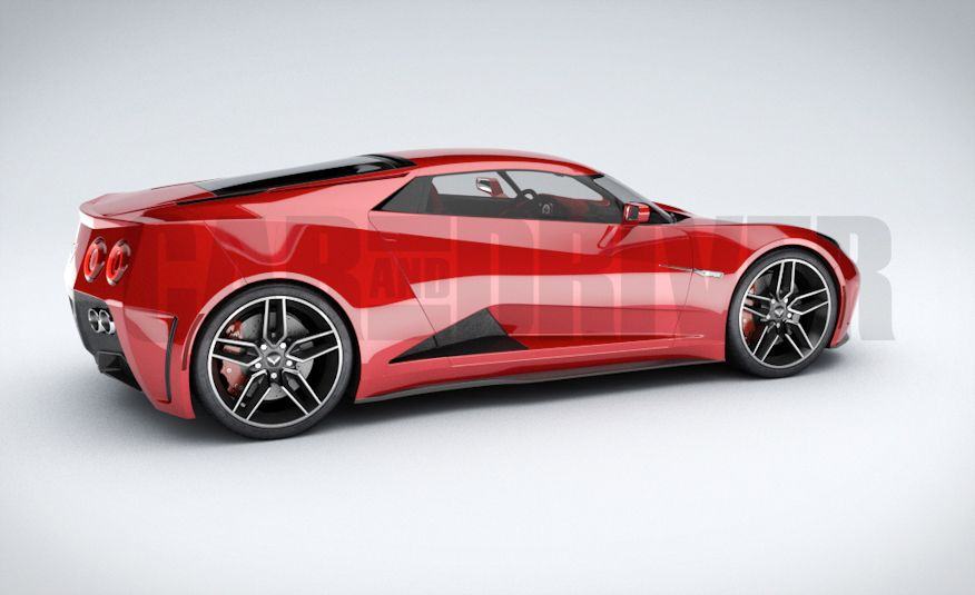 2017 Mid-Engined Chevrolet Corvette Zora (artist's rendering)  - Slide 19
