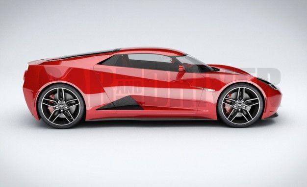 2017 Mid Engined Chevrolet Corvette Zora Artist S Rendering