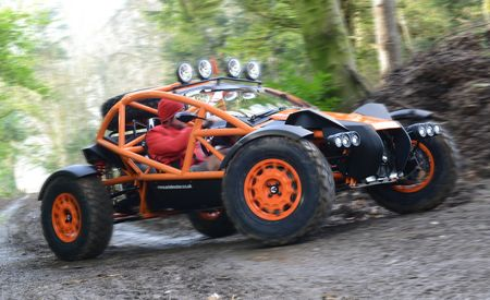 Meet the Atom's Dirty-Minded Sister – Ariel Builds a Skeletal Dune Buggy