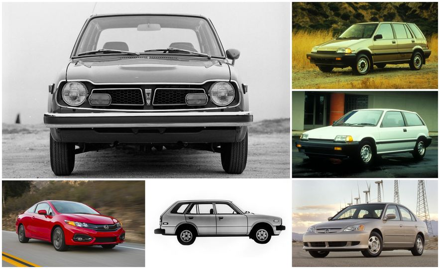 Civic Pride: A Visual History of the Honda Civic - Slide 1