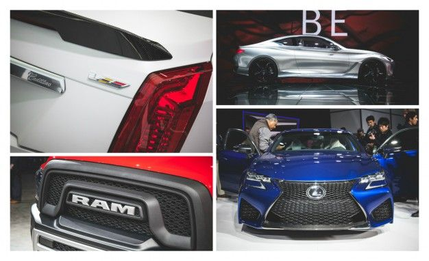 Everything You Need to See from Day 2 of the Detroit Auto Show