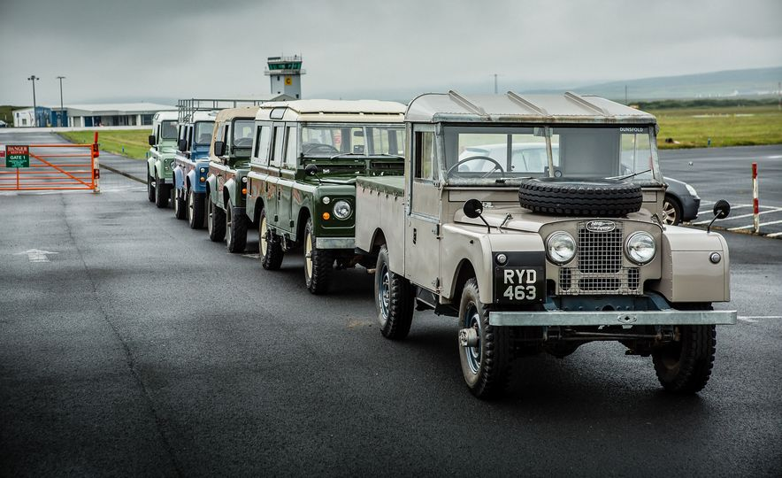 Defender of the Faith: Driving Every Generation of Land Rover Defender - Slide 1
