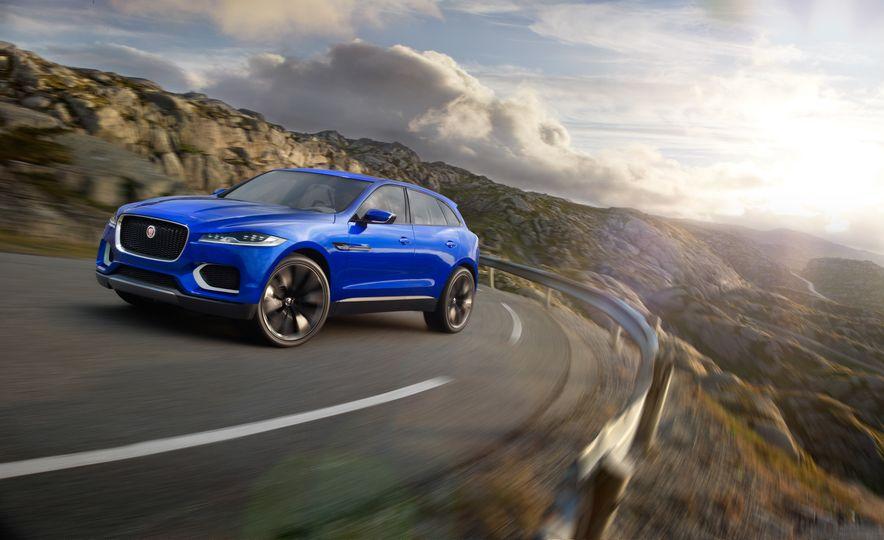 2017 Jaguar F-pace (spy photo) - Slide 17