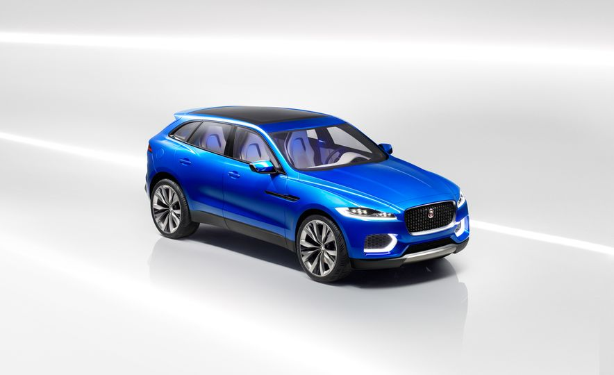 2017 Jaguar F-pace (spy photo) - Slide 30