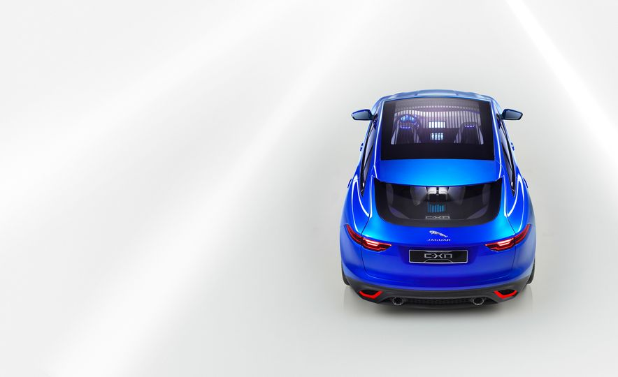 2017 Jaguar F-pace (spy photo) - Slide 33