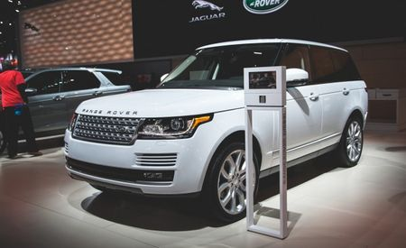 Diesel in Detroit: Range Rover, Range Rover Sport Adding Diesel V-6 in U.S. for 2016