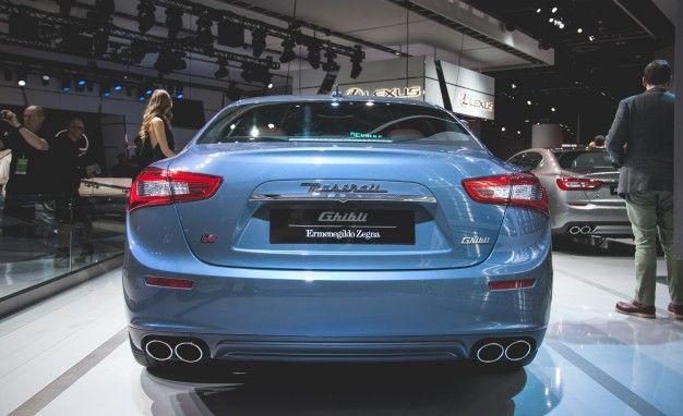 Ermenegildo Zegna Christens Special-Edition Maserati Ghibli – News ...