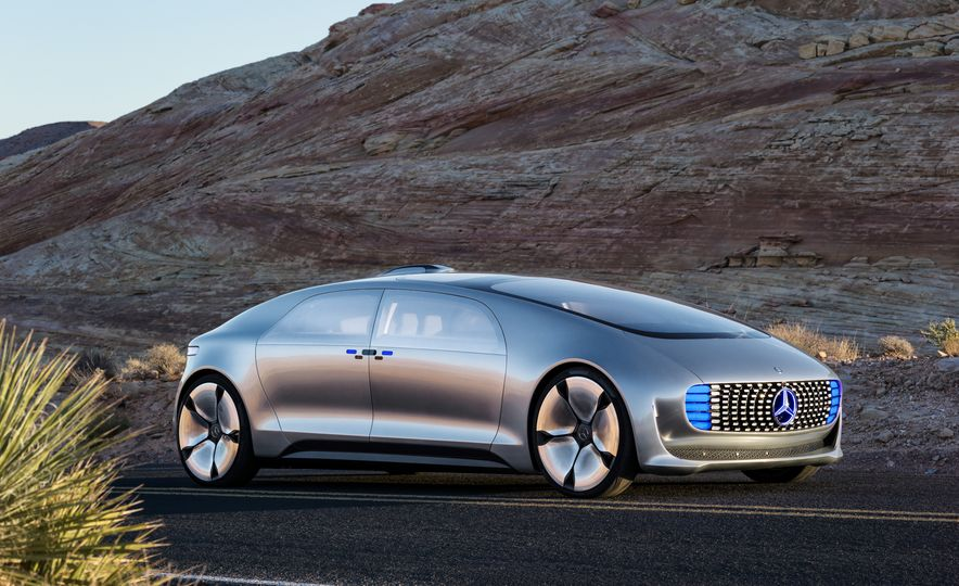 Mercedes-Benz F 015 Luxury in Motion concept - Slide 26