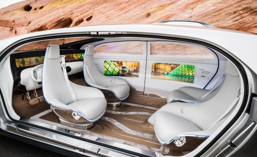 Mercedes-Benz F 015 Luxury in Motion concept - Slide 31