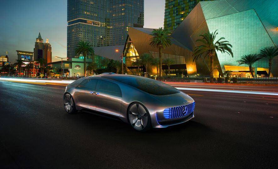 Mercedes-Benz F 015 Luxury in Motion concept - Slide 34