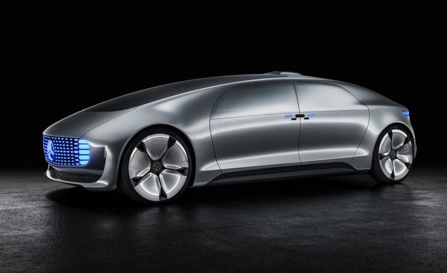 Mercedes-Benz F 015 Luxury in Motion concept - Slide 37