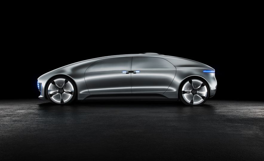 Mercedes-Benz F 015 Luxury in Motion concept - Slide 38