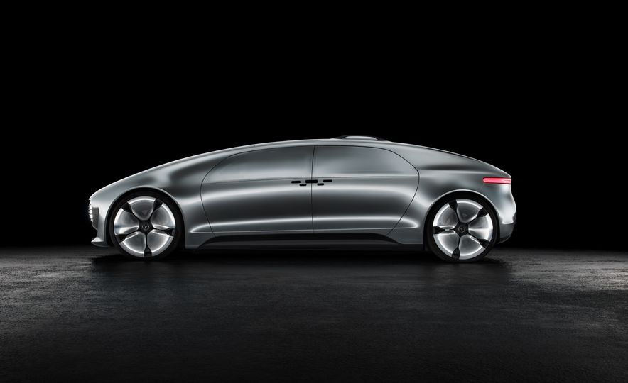 Mercedes-Benz F 015 Luxury in Motion concept - Slide 39