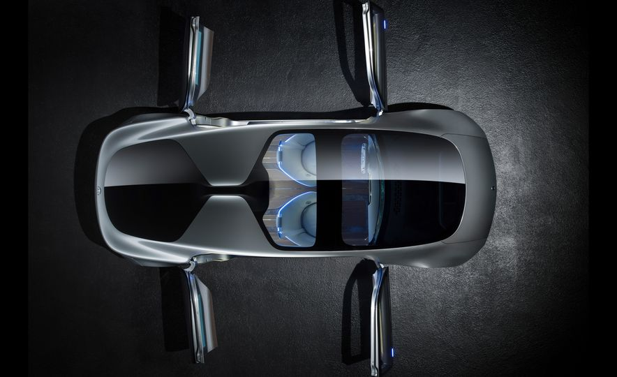Mercedes-Benz F 015 Luxury in Motion concept - Slide 40