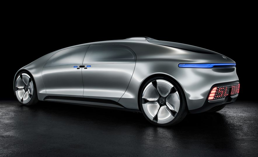 Mercedes-Benz F 015 Luxury in Motion concept - Slide 41