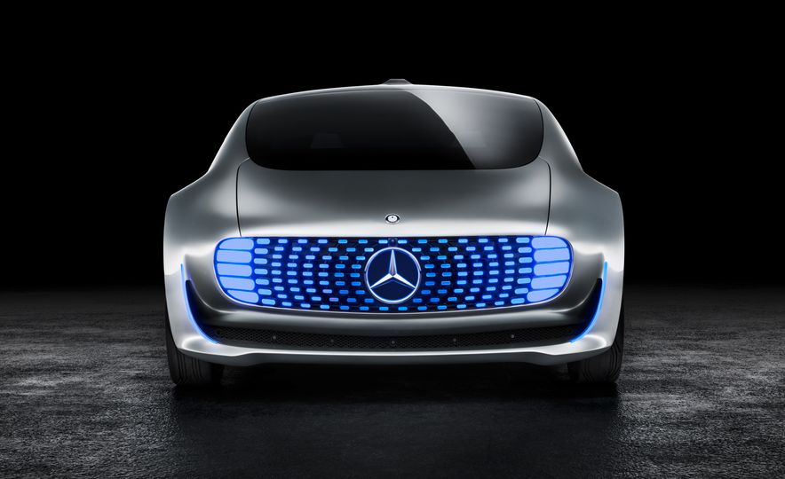 Mercedes-Benz F 015 Luxury in Motion concept - Slide 45
