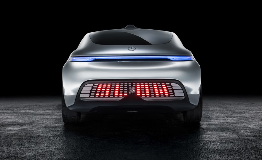 Mercedes-Benz F 015 Luxury in Motion concept - Slide 48