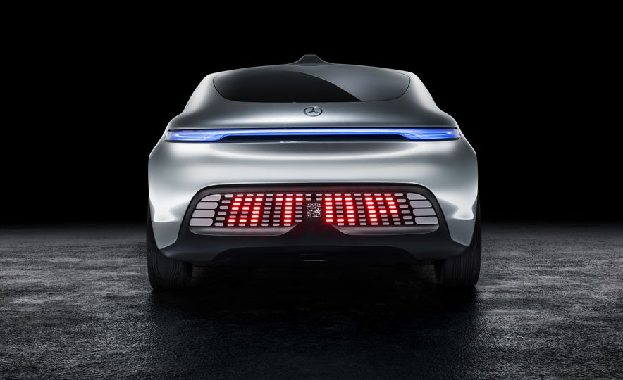 Mercedes-Benz F 015 Luxury in Motion concept - Slide 49
