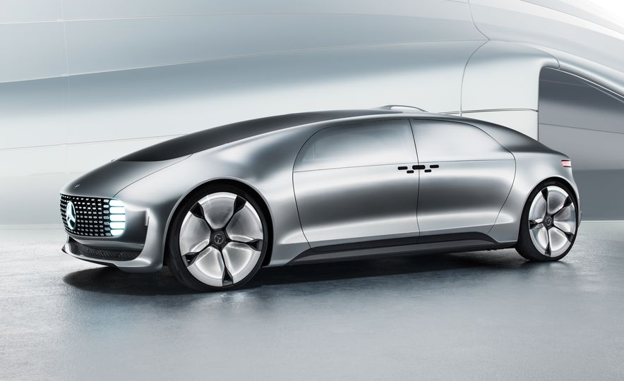 Mercedes-Benz F 015 Luxury in Motion concept - Slide 50
