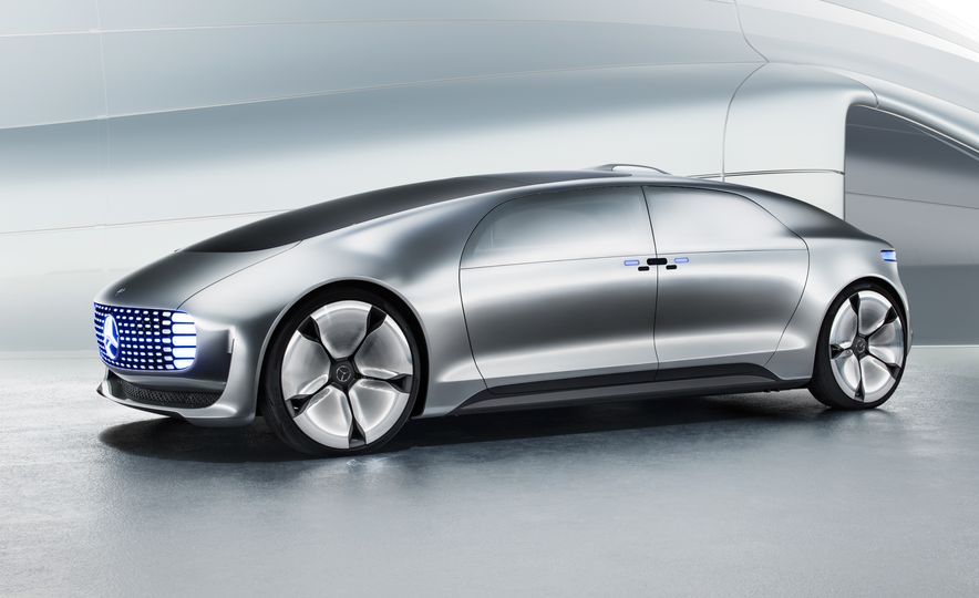 Mercedes-Benz F 015 Luxury in Motion concept - Slide 51