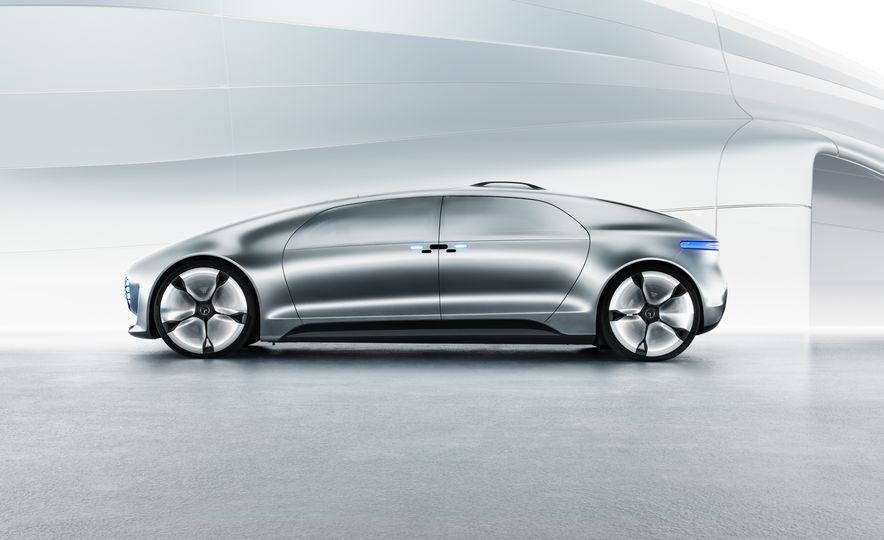 Mercedes-Benz F 015 Luxury in Motion concept - Slide 52