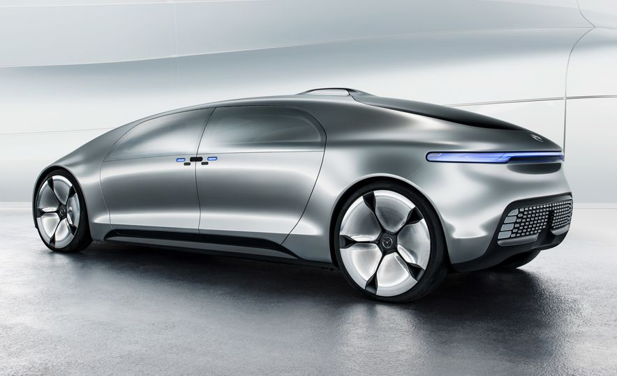 Mercedes-Benz F 015 Luxury in Motion concept - Slide 53