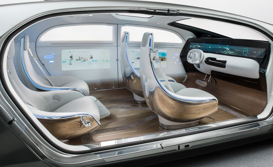 Mercedes-Benz F 015 Luxury in Motion concept - Slide 54