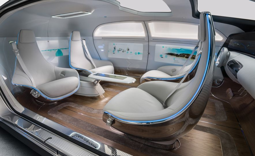 Mercedes-Benz F 015 Luxury in Motion concept - Slide 56