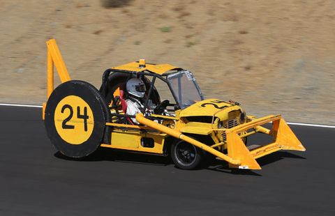 These Are the Most Amazing LeMons Race Cars of the Year (One Is a Freaking Backhoe)